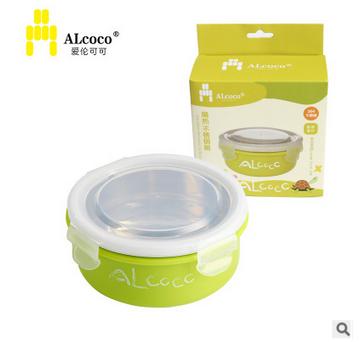 英国ALcoco 母婴用品不锈钢保温碗