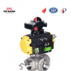 DN10-100气动阀/气动内螺纹球阀/气动阀门