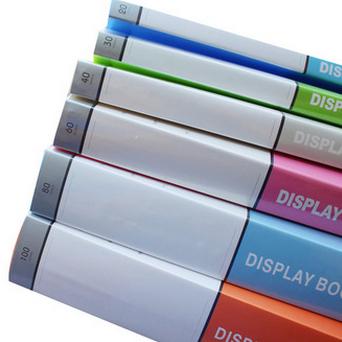 资料册广告插页式透明插页袋收纳文件夹谱夹试卷夹