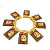 俄罗斯大头娃娃巧克力进口食品休闲糖果结婚婚庆喜糖俄货