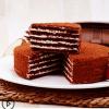 提拉米苏蛋糕 俄罗斯 6寸 进口食品千层蜂蜜奶油西式糕点
