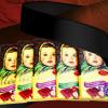 俄罗斯大头娃娃巧克力进口食品榛仁糖果办公室休闲零食俄货批发