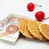 俄罗斯食品原装进口零食蜂蜜拉丝饼干华夫饼婚庆喜糖糖果