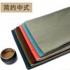 森木意手工布艺棉麻布茶席 中式古典茶具茶艺茶道茶席茶旗