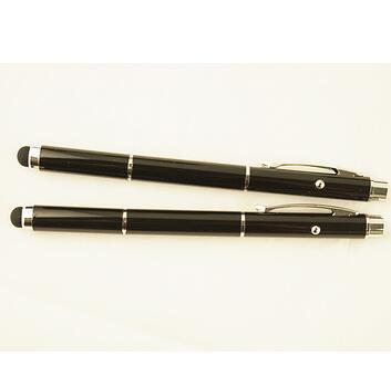 厂家供应:2104金属手写笔 激光笔 电容笔多功能手写笔