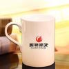热销创意陶瓷杯办公会议骨瓷杯批发 促销酒店客房喝水杯定制logo