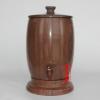 萃华轩木鱼石水桶饮水机净水器木鱼石水缸储水器家用直饮正品包邮