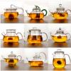 厂家销售各种样式耐高温玻璃茶壶品种齐全 水果花草茶壶