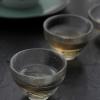 耐热玻璃日式品茗杯闻香杯锤纹玻璃茶杯高档新款锤目纹品杯定做