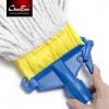 超宝 C-015标准型扣式地拖 纯棉吸水拖把 打蜡拖头胶棉墩布拖布