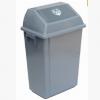 超宝42L升弹盖垃圾桶B-014灰色环保室内垃圾桶