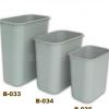 超宝牌塑料垃圾桶无盖垃圾桶厨房卧室简单大中小号环保通用垃圾桶