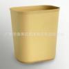 酒店客房黑色塑料桶 阻燃垃圾桶 卫浴方形磨沙垃圾桶 房间桶