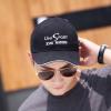 帽子韩版新款帽子男士帽子户外休闲棒球帽刺绣棉质鸭舌帽遮阳帽