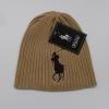 polo毛线帽 欧美男女士外贸纯棉polo毛线帽 保暖针织帽子