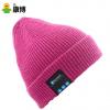 欧美时尚智能针织帽子 男女款耳机蓝牙帽子整套批发 一件代发