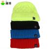 户外保暖针织帽子 男女同款毛线帽 出口欧美厂家直销 帽子女士