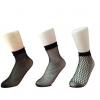 厂家直销2017年新款网格性感短筒袜 平口袜 透气舒适网眼蕾丝网袜