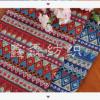 【厂家直销】民族风印花棉麻布料 家居 演出服转用纯天然亚麻面料