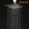 6寸8寸10寸12寸16寸超薄304不锈钢镀铬方淋浴顶喷20寸订做Beelee