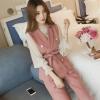 2018春装新款时髦套装女神范休闲西装无袖马甲省心搭配时尚三件套