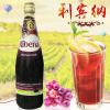 马来西亚进口利宾纳黑加仑子汁 冲饮果汁饮品利宾纳甜品原料1L