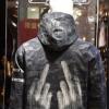 2017秋季大码男式风衣韩版男士迷彩休闲中长款风衣男装夹克外套