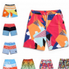 夏季男装运动沙滩裤宽松速干休闲男式短裤、工厂直销海边摆卖商家