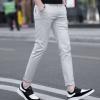 夏季新款韩版九分裤男式休闲裤青年修身全棉流行男裤子一件代发