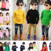 韩版时尚童装毛衣低价批发 全新工厂尾货儿童毛衣地摊童装羊毛衫