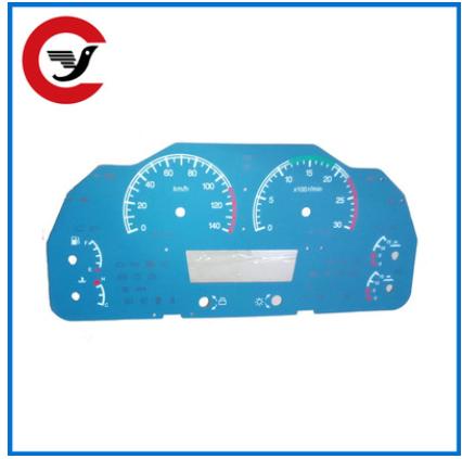 厂家生产 汽车组合仪表盘刻度盘 丝印刻度盘 仪表盘 汽车仪表盘