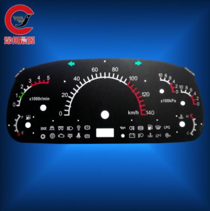 专业生产 耐磨pc仪表刻度盘 精密仪表刻度盘 定制丝印仪表盘