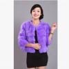 17厂家批发新款可爱皮草女外套 畅销热卖 特价大量批发兔毛上衣