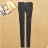 秋季外贸原单女装简约修身显瘦直筒牛仔牛仔裤0552 046