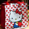 卡通饭盒便当包帆布环保购物袋饭盒袋可爱人气便当包手提包