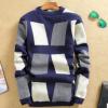 秋冬季韩版新款大码库存男士羊毛衫 地摊男装保暖加厚打底衫毛衣