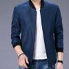 2018春秋季长袖休闲韩版男士外套修身夹克青年男装青年时尚棒球服