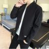 2018年新款休闲男式夹克 韩版修身短款男式百搭夹克男一件代发