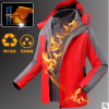 可拆卸两件套冲锋衣外套工作服定制印字印logo户外活动文化衫订做