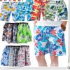 2018夏季沙滩裤男短裤沙滩裤宽松薄款印花休闲速干面料大码批发