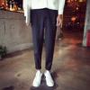 2016年春装新款男士 韩版男小脚休闲休闲裤修身长裤
