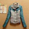 批发秋冬新款外贸原单韩版长袖女式棉衣棉服外套1852 04