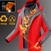 可拆卸两件套冲锋衣外套工作服亚博体育app在线下载印字印logo户外活动文化衫订做