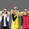 2017新款秋冬轻薄羽绒棉服 女式修身韩版白鸭绒女装外套 厂家直销