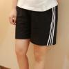 2017新款韩版大码女装跑步休闲运动健身短裤胖mm加肥加大200斤夏