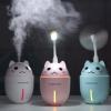 萌宠三合一加湿器小风扇夜灯USB迷你桌面美容喷雾抖音热门同款