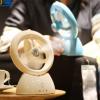 水精灵加湿器风扇迷你USB小风扇喷水喷雾充电电风扇创意礼物