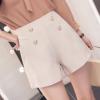 1622#实拍短裤女2018春夏新款女装休闲裤修身显瘦高腰
