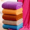 厂家批发美容院铺床大毛巾 加厚柔软吸水浴巾成人浴巾