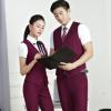 男女职业装马甲套装2017新款酒店服务员空姐工装制服女裙男裤套装